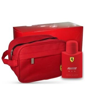 FERRARI SCUDERIA RED 40ML EDT SPRAY + POCHETTE  CONFEZIONE