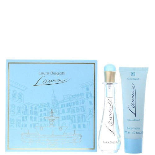 LAURA BIAGIOTTI LAURA DONNA 25ML SPRAY+LATTE CORPO 50ML INSCAT