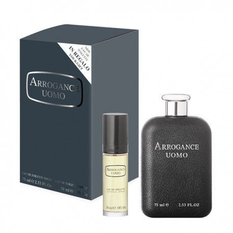 ARROGANCE UOMO EDT 75ML + 30ML EDT SPRAY COFANETTO