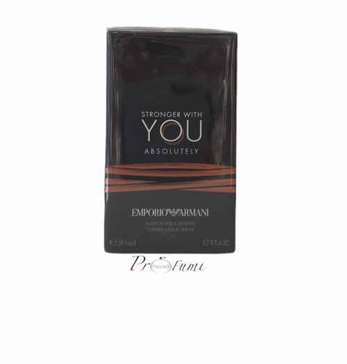 GIORGIO ARMANI STRONGER WITH YOU ABSOLUTELY PARFUM 50ML SPRAY IN
